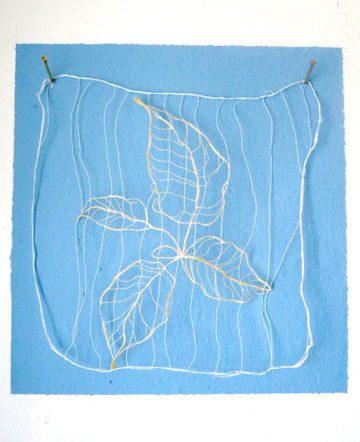 Curtains down - Epiloque II 19 x 18 cm | Textile | 70 €